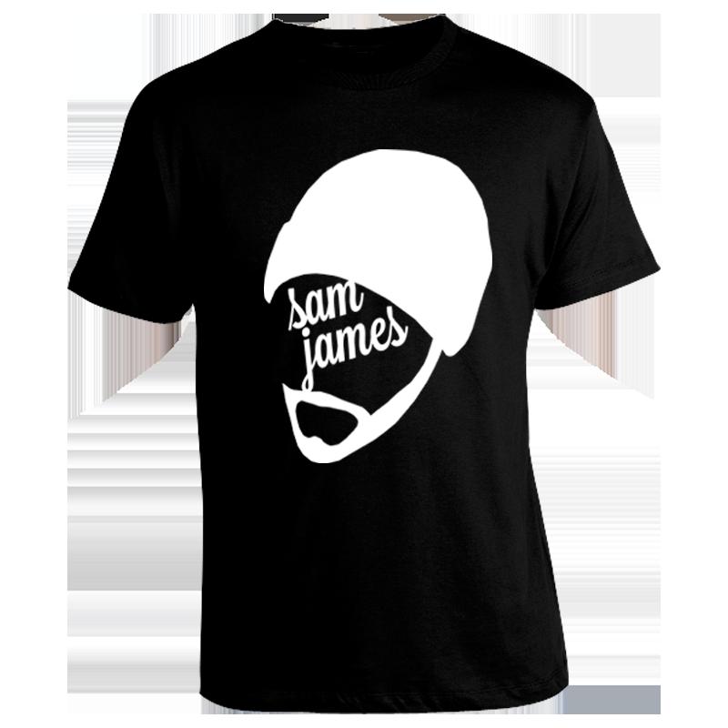 Image of Black Sam James Shirt