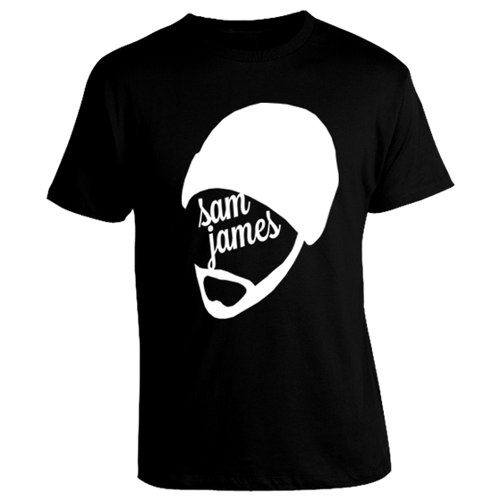 Image of Black Sam James Shirt