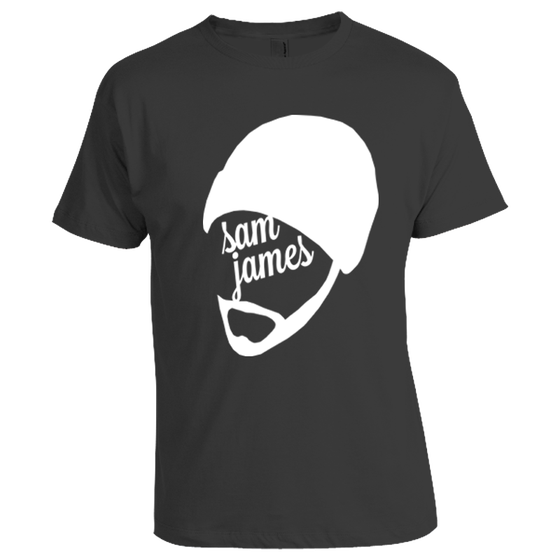 Image of Gray Sam James Shirt