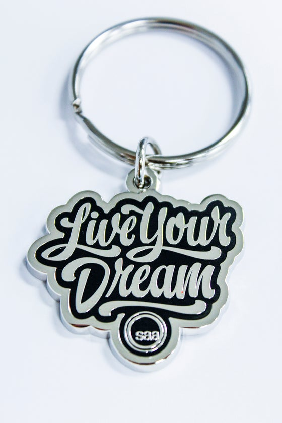 Image of Live Your Dream keychain