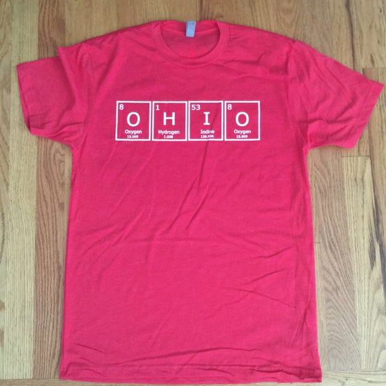 Image of periodic osu. - graphic tee