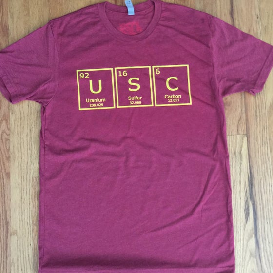 Image of periodic usc. - graphic tee