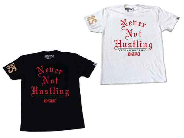 "Image of NEVER NOT HUSTLING ""GUCCI  TSHIRT"