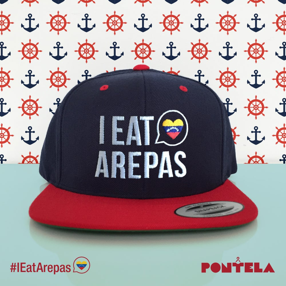 Image of I Eat Arepas Navy/Red