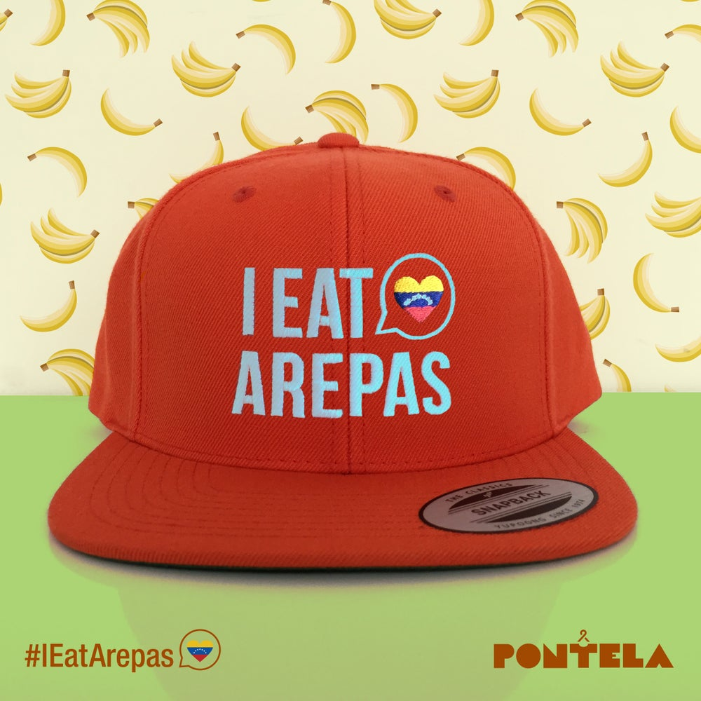 Image of I Eat Arepas Orange