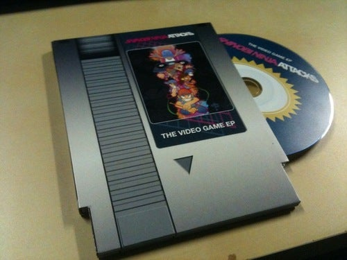 Image of Shinobi Ninja Attacks Video Game EP NES Cartridge Edition