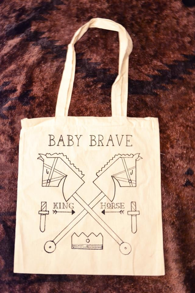 Image of King Horse Tote Bag
