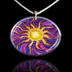 Image of El Sol Yang Energy Empowerment Amulet