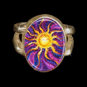 Image of El Sol Yang Energy Empowerment Ring