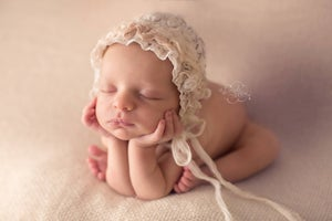 Image of ~ Snowball ~ bonnet