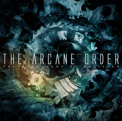 "Image of The Arcane Order - ""The Machinery of Oblivion"" CD"