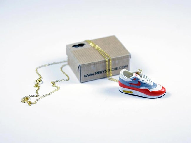 Image of Sneakers Necklace Air Max 1