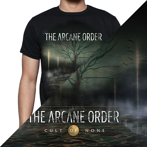 Image of The Arcane Order CD + shirt bundle