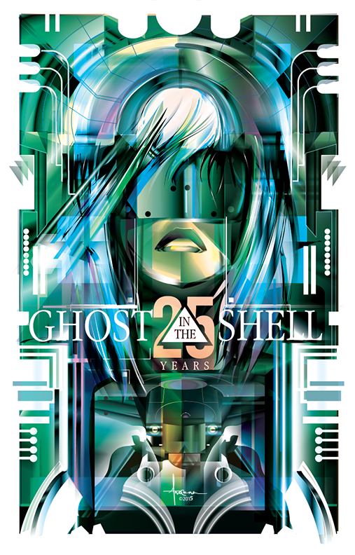 Image of GHOST in the SHELL- 24x36 Edition 25 - 2015
