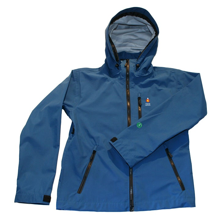 Image of Antero II Plus Hardshell Polartec Neoshell Jacket Blue
