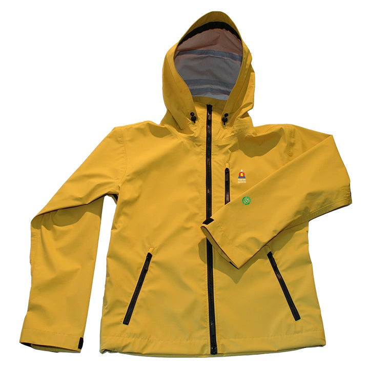 Image of Antero II Plus Hardshell Polartec Neoshell Jacket Yellow