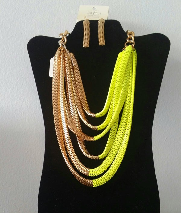 Image of Fashion Statement Necklace4