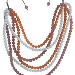 Image of Del Ray Necklace (Canteloupe) by Eb&Ive