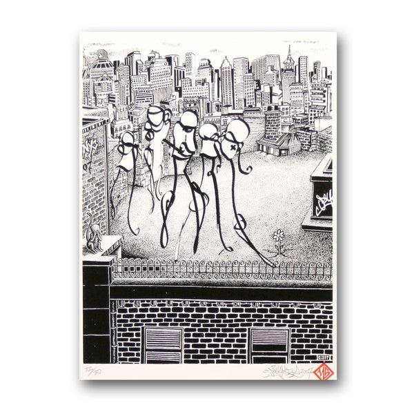 New York City rooftop - PSY la boutik