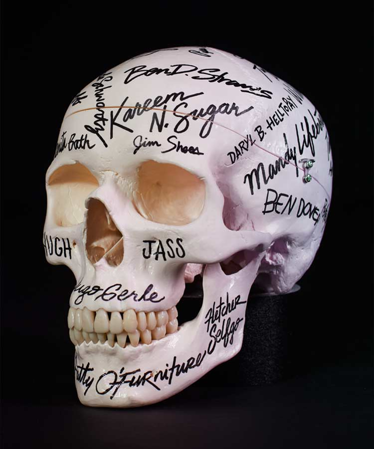 Image of Championship Skull (Autographed)