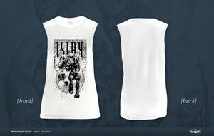 "Image of Girlie Tank Top ""The Angels`Share"" (weiß und rot)"