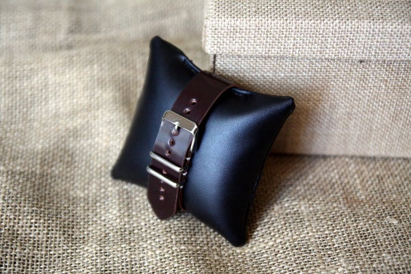 Image of One Piece Buckled Watch Strap