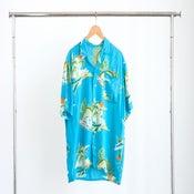 Vintage 60s Hawaiian Button Up Blouse