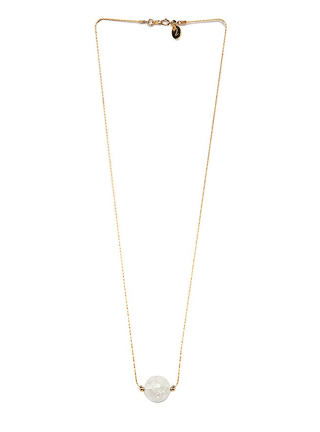 "Image of ""Ice Orb"" Necklace - 14 Carat Gold"
