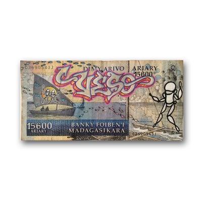 Billet de banque Madagascar - PSY la boutik
