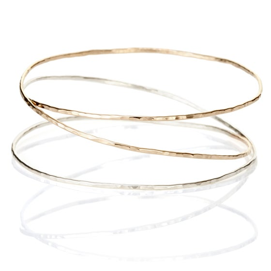 Image of Thin Mobius Bracelet  *New in two-tone!