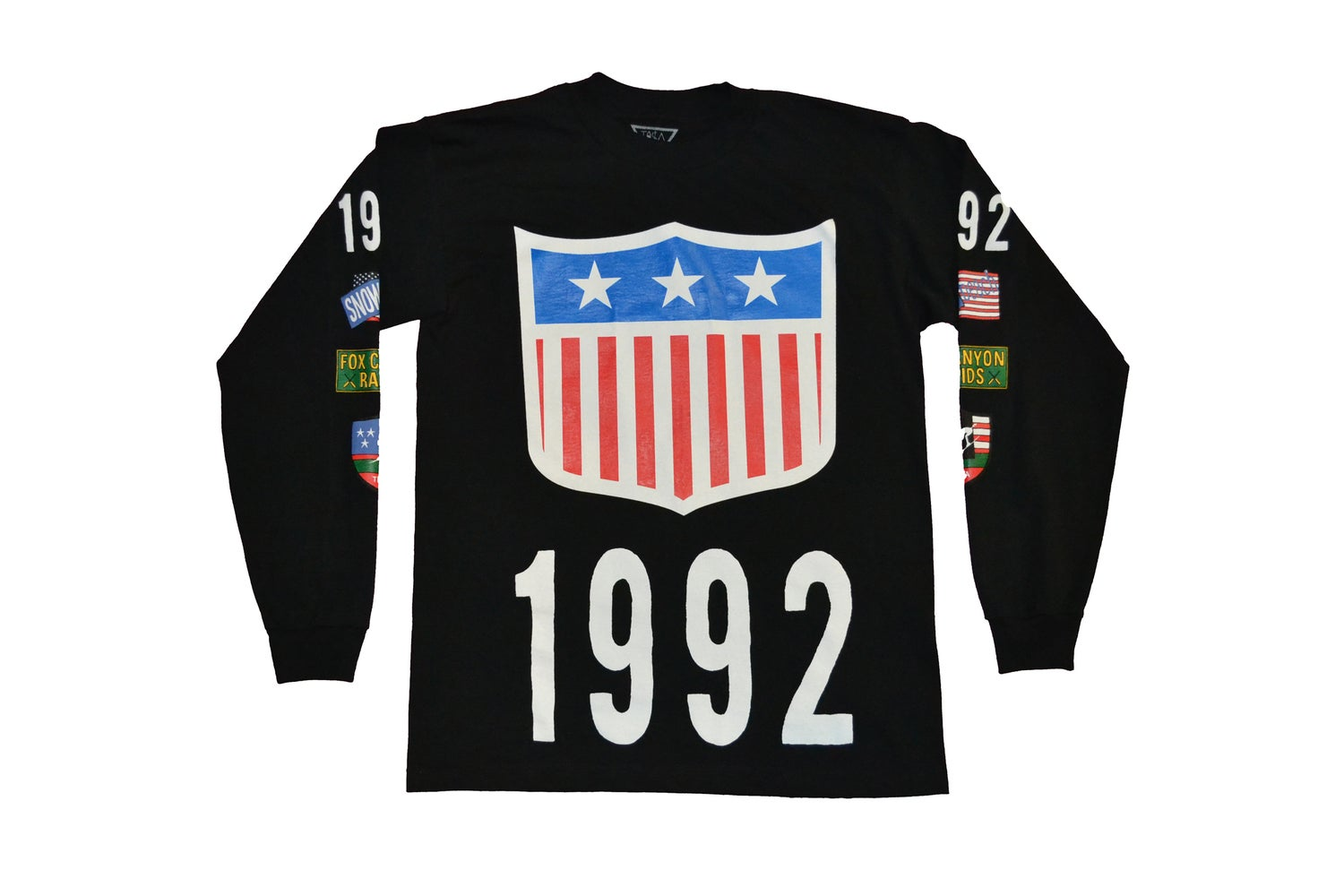 Image of TI$A SHIELD PATCHWORK 1992 L/S