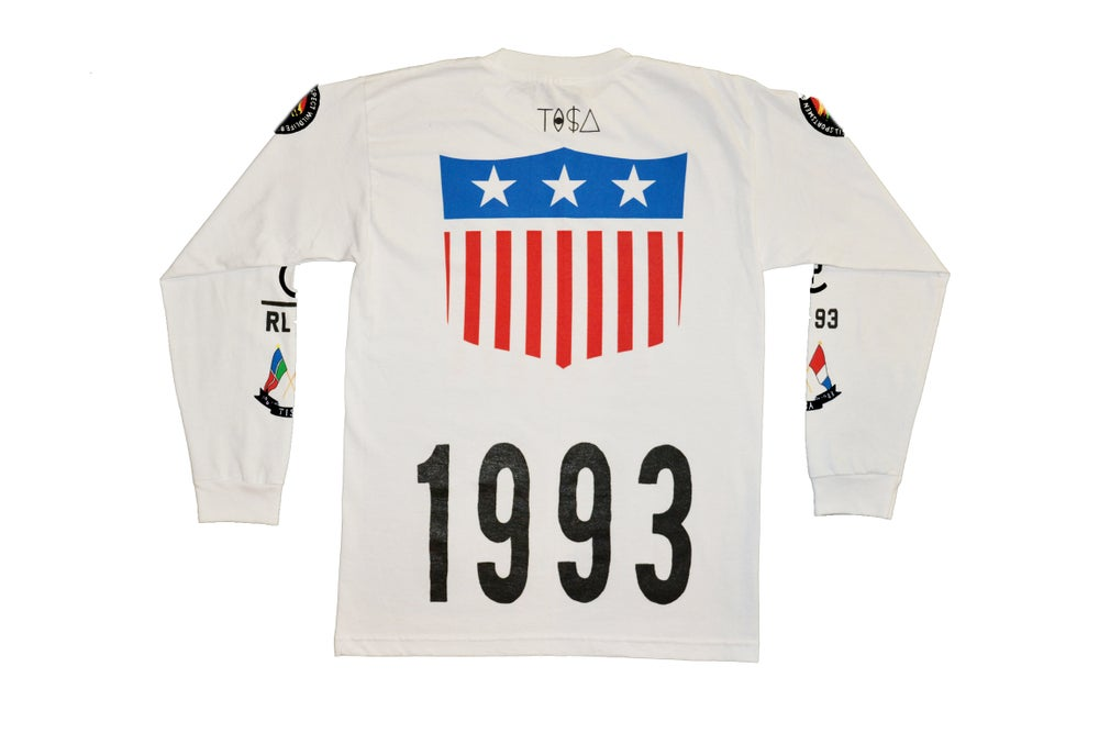 Image of TI$A SHIELD PATCHWORK 1993 SHIRT