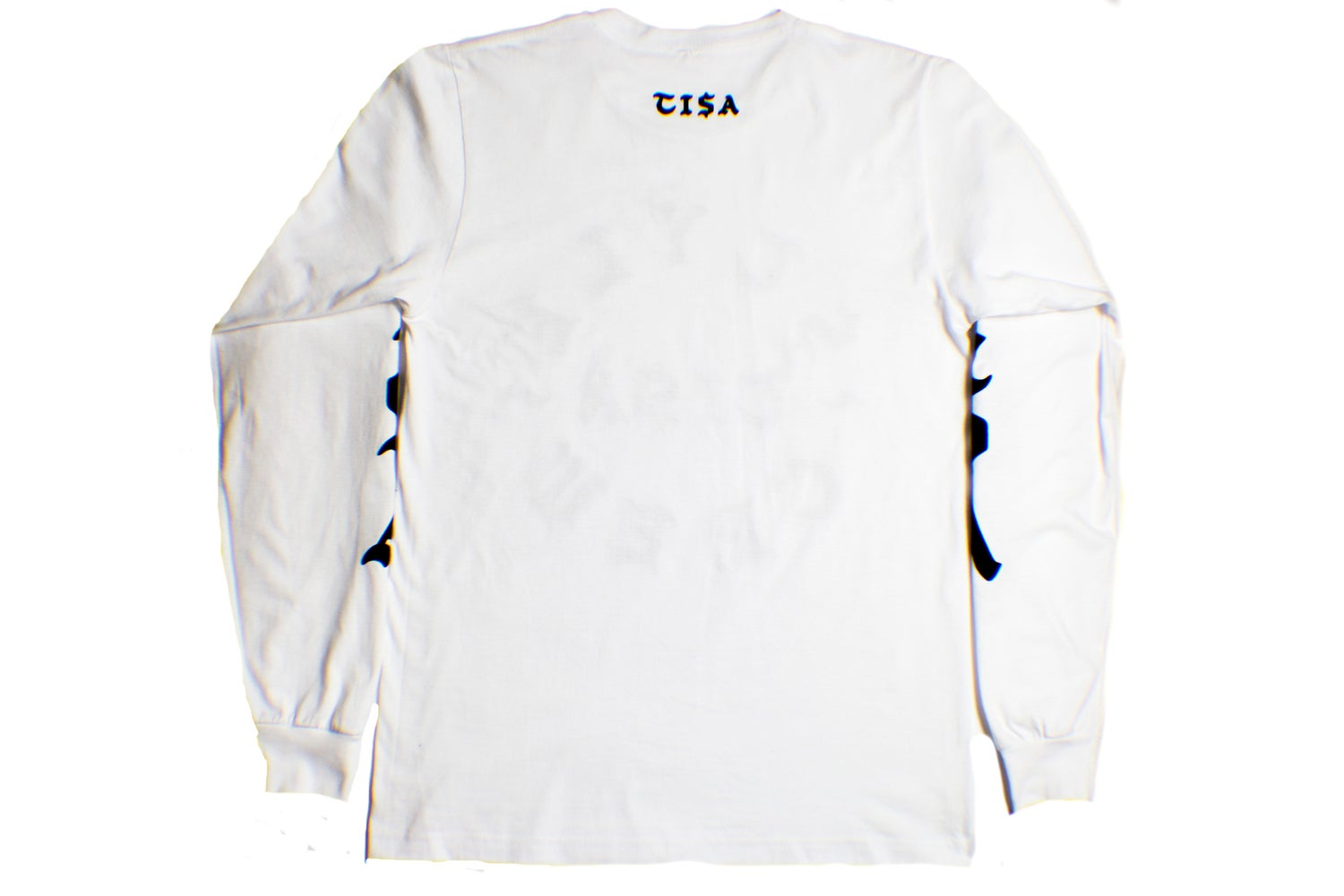 Image of TI$A STYLE CREW LS T-SHIRT WHITE