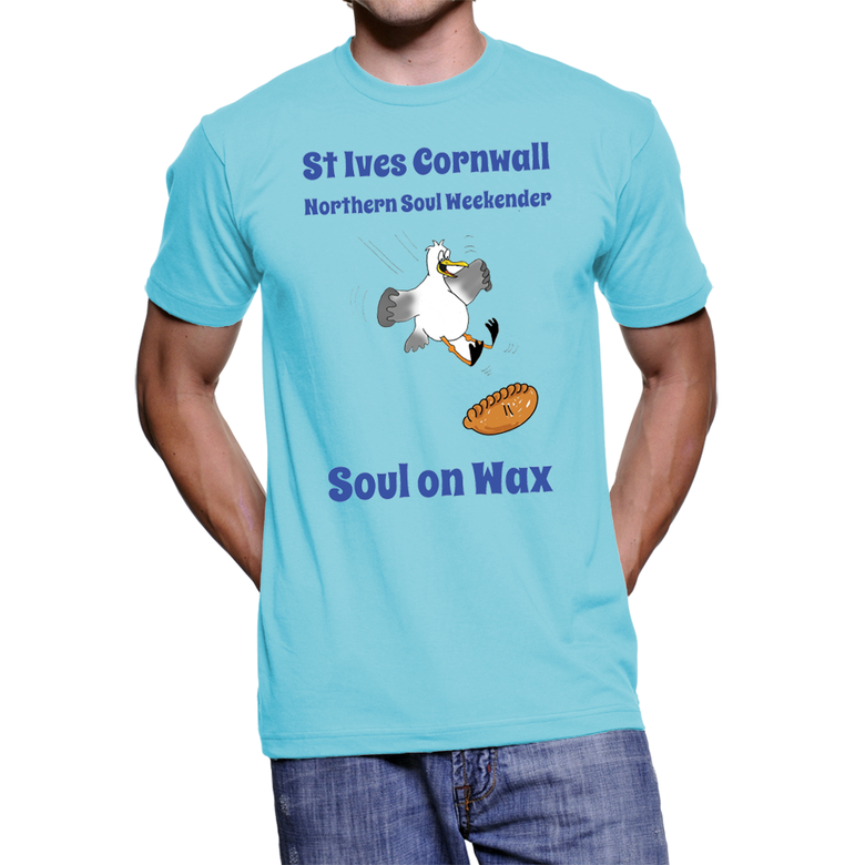 Image of The Official St Ives Cornwall 2016 Soul Weekender T Shirt