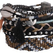 Image of The Keys Cuff (Black) by Eb&Ive