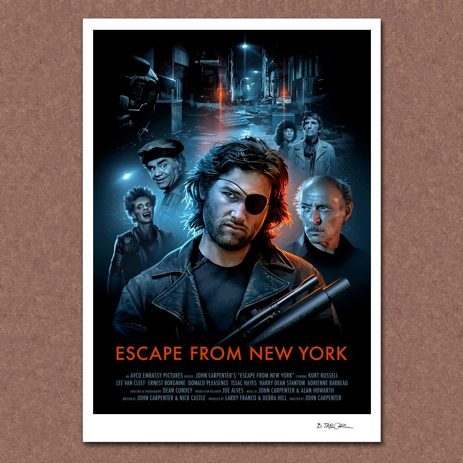 candykiller escape from new york poster. Black Bedroom Furniture Sets. Home Design Ideas