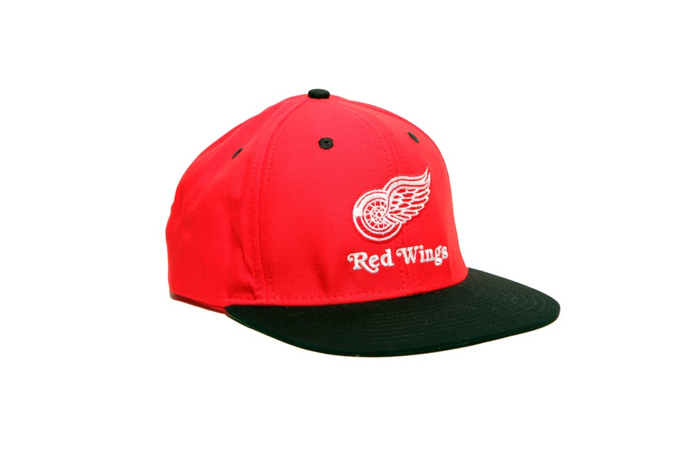 Image of TI$A REDWINGS CAP RED/BLACK