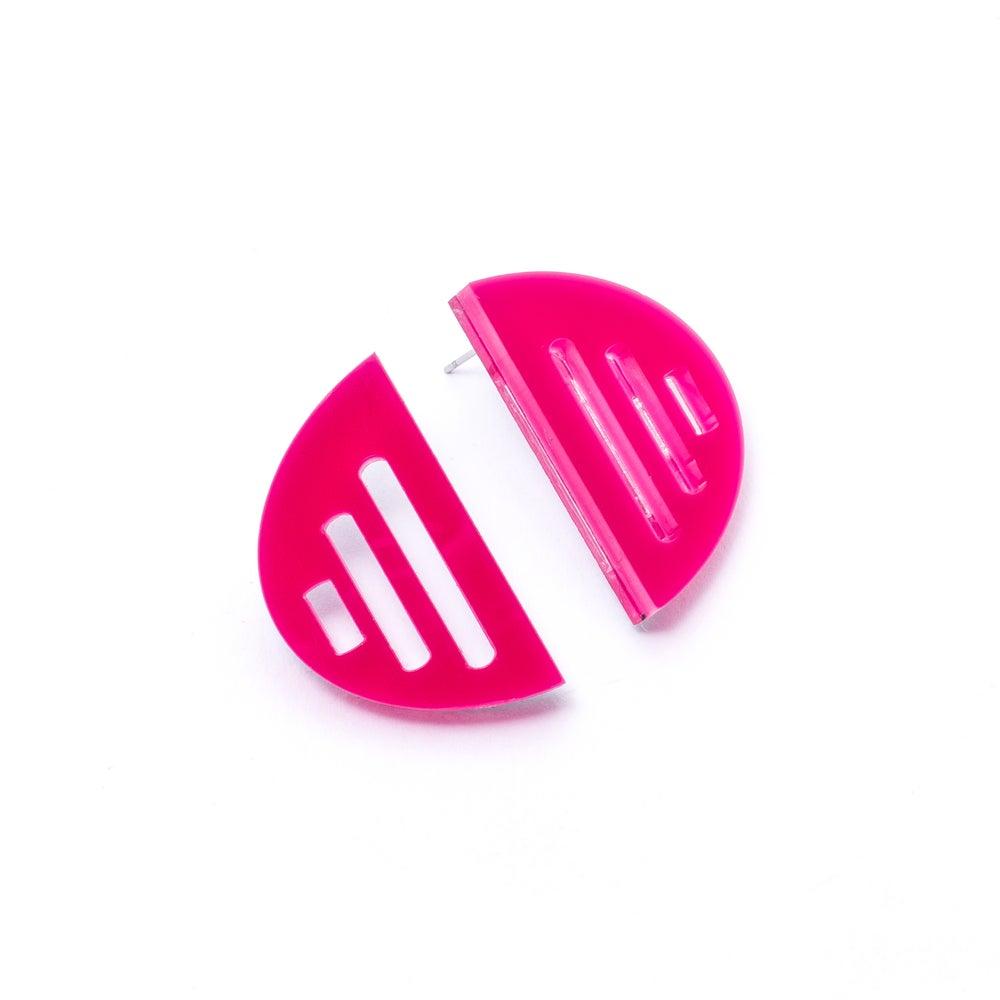 Image of Náušnice Semicircle v 6 barvách