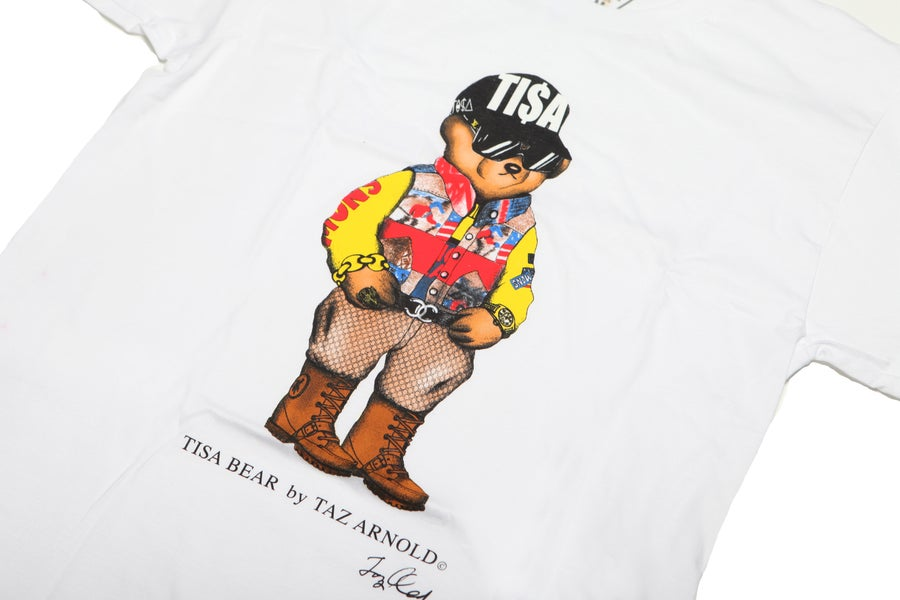 Image of TI$A SNOWBEACH BEAR T-SHIRT