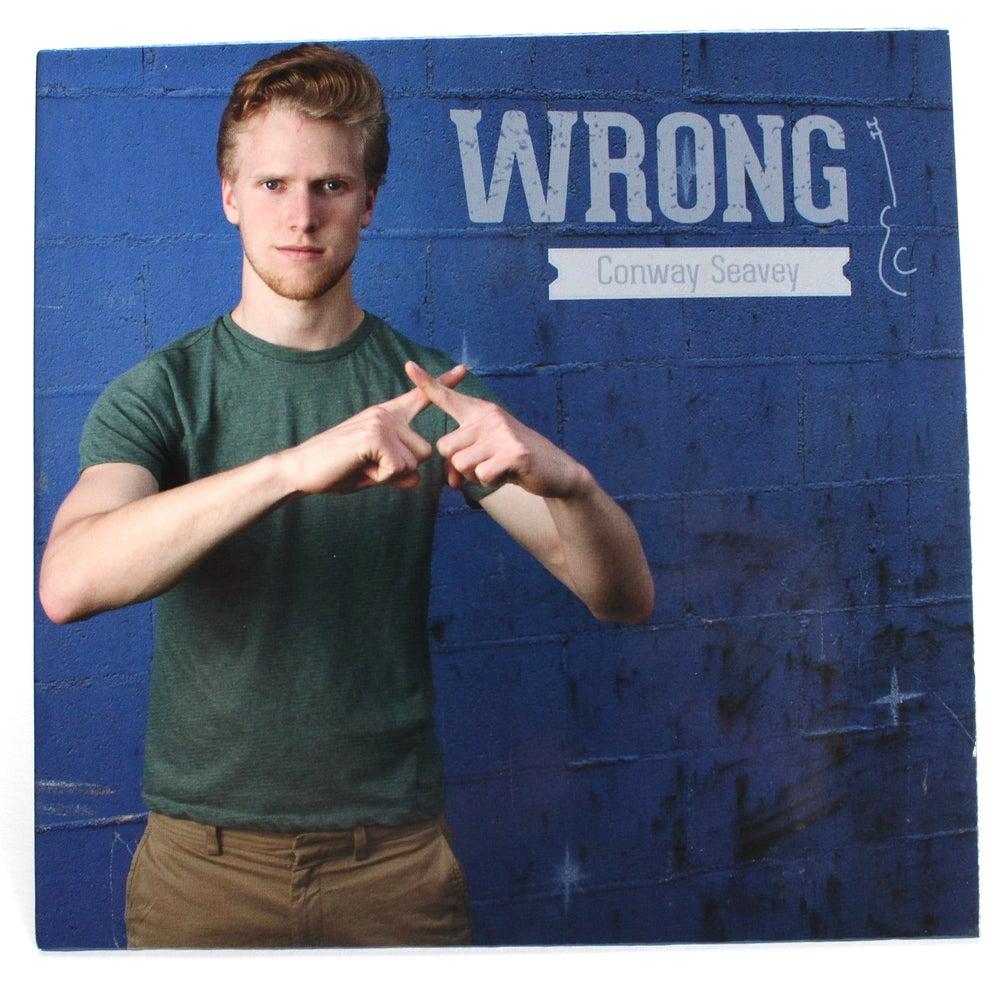 "Image of ""Wrong"" CD"