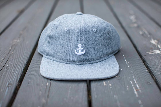 Image of Any Port 6 Panel Cap - Gray