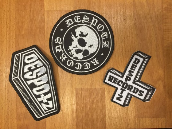 Image of Limited Edition Despotz Records Patches