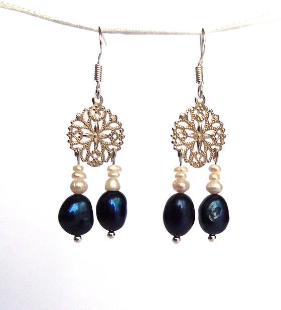 Image of Frivole Perles bleues