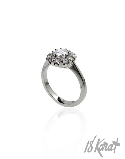 Nicole's Engagement Ring - 18Karat Studio+Gallery