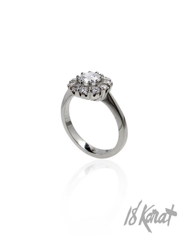 Nicole's Engagement Ring - 18Karat Studio+Gallery