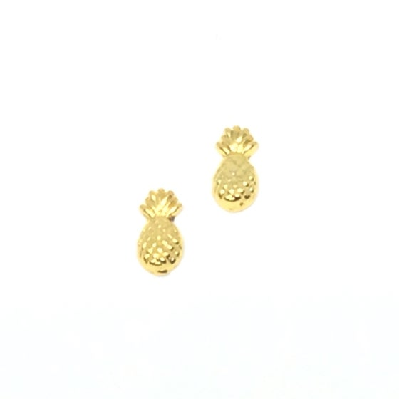 Image of Gold Pineapple Charms