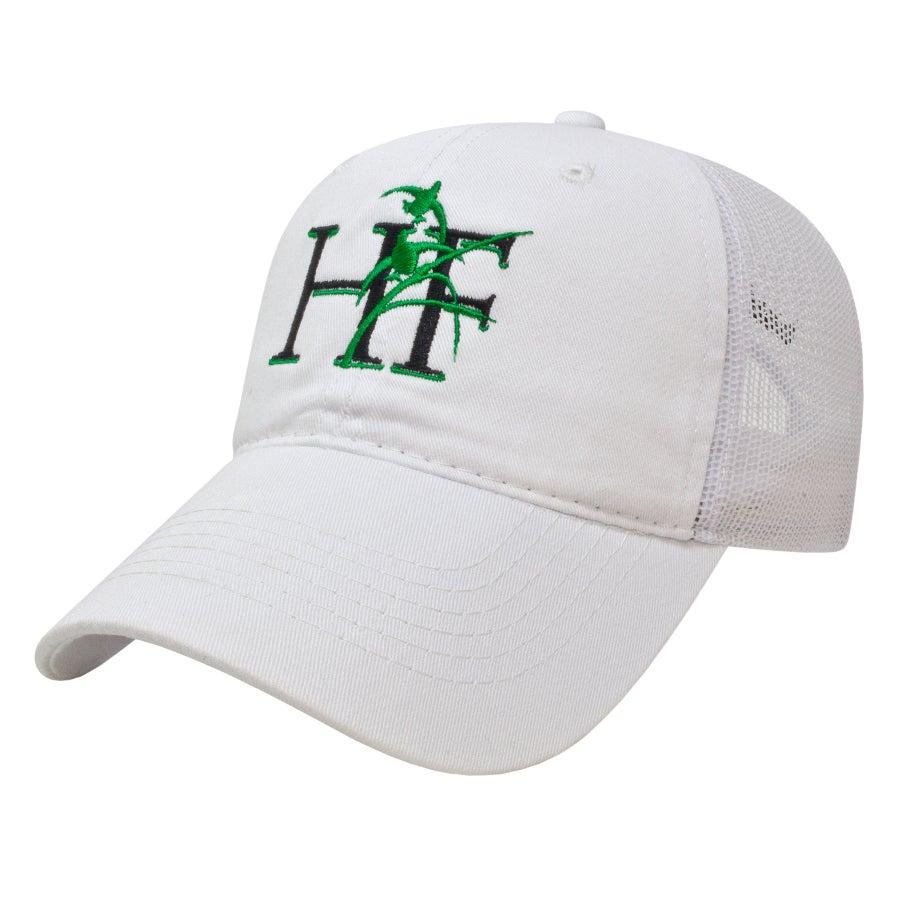 Image of White Habitat Flats Trucker Hat