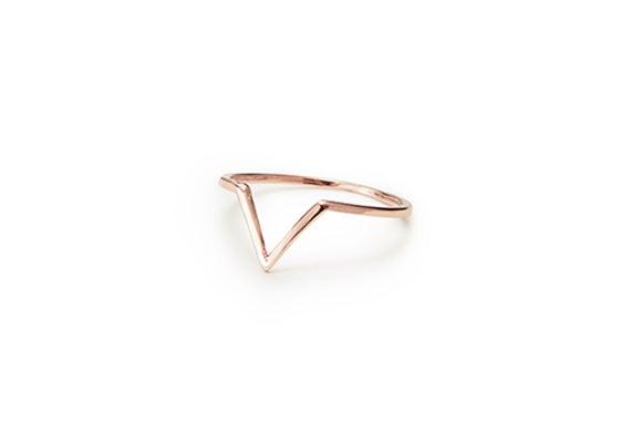 Image of MINI VIOLET RING : ROSE GOLD
