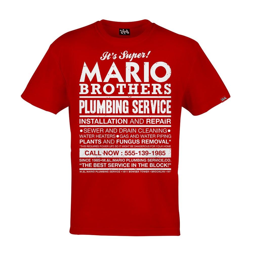 Image of Mario Bros plumbing service