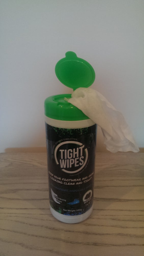 "Image of ""TIGHTWIPES"" Sneaker Cleaner Wipes"